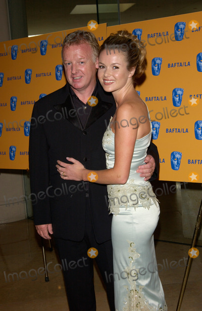Amanda Holden Photo - Actress AMANDA HOLDEN  husband comedian LES DENNIS at the 11th Annual BAFTALA Britannia Awards at the Beverly Hills Hilton12APR2002   Paul Smith  Featureflash