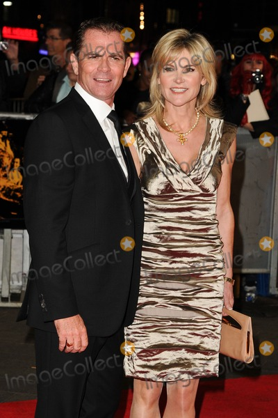 Grant Bovey Photo - Grant Bovey and Anthea Turner at the premiere for Crossfire Hurricane being shown as part of the London Film Festival 2012 Odeon Leicester Square London 18102012 Picture by Steve Vas  Featureflash