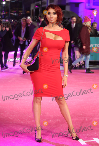 Amy Childs Photo - Amy Childs at the UK premiere of How to Be Single at the Vue Leicester Square London February 9 2016  London UKPicture James Smith  Featureflash