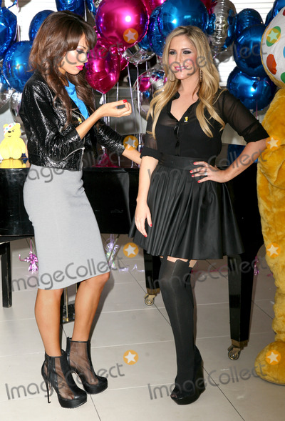 Heidi Range Photo - Sugababes Jade Ewen and Heidi Range celebrating the launch of BBC Children in Need POP Goes the Musical at Kensington Roof Gardens west London 31082011 Picture by Alexandra Glen  Featureflash