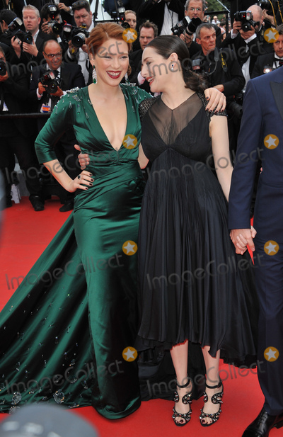 Amira Casar Photo - Lea Seydoux  Amira Casar (right) at gala premiere of their movie Saint-Laurent at the 67th Festival de CannesMay 17 2014  Cannes FrancePicture Paul Smith  Featureflash