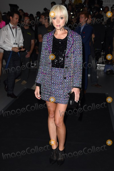 Helen George Photo - Helen George at the Bora Aksu show as part of London Fashion Week SS15  12092014 Picture by Steve Vas  Featureflash
