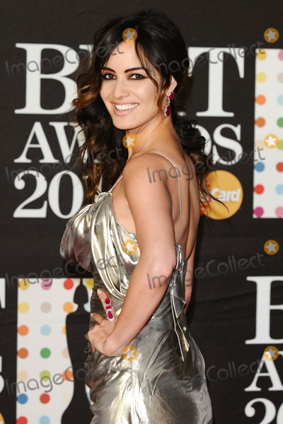 Berenice Marhloe Photo - Berenice Marhloe arrives for the Brit Awards 2013 at the O2 Arena Greenwich London 20022013 Picture by Steve Vas  Featureflash