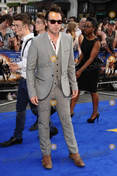 Gaz Coombs Photo - Gaz Coombs arrives for the world premiere of The Worlds End at the Empire Leicester Square London 10072013 Picture by Steve Vas  Featureflash