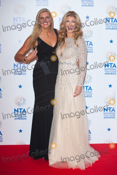 Rebecca Adlington Photo - Rebecca Adlington and Amy Willerton in the Awards Room at the National Television Awards 2014O2 Arena Greenwich London 22012014 Picture by Dave Norton  Featureflash