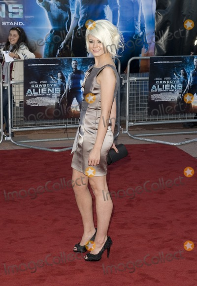 Danielle Harold Photo - Danielle Harold arrives for the premiere of Cowboys and Aliens at the 02 cineworld cinema London 11082011 Picture by Simon Burchell  Featureflash
