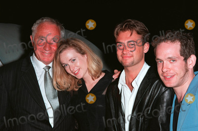 Tom Holland Photo - Actors NIGEL HAWTHORNE (left) NATASHA LITTLE PAUL NICHOLS  TOM HOLLANDER at party in Cannes to promote their new movie The Clandestine Marriage Paul Smith  Featureflash