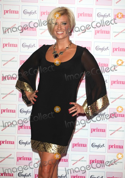 Caroline Feraday Photo - Caroline Feraday arriving for the Prima Comfort Fashion Awards 2012 At Evolution Battersea Park London 13092012 Picture by Alexandra Glen  Featureflash