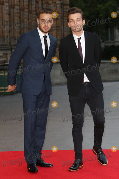 Cinderella Photo - Liam Payne  Louis Tomlinson at the Believe In Magic Cinderella Ball held at the Natural History Museum London August 10 2015  London UKPicture James Smith  Featureflash