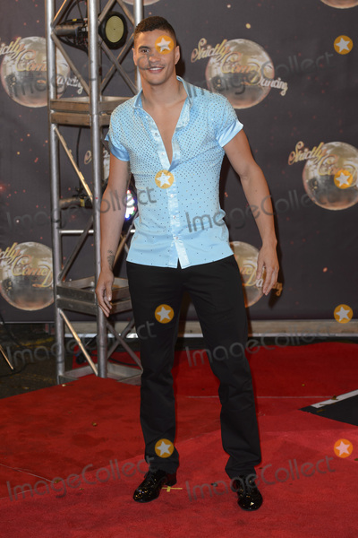 Anthony Ogogo Photo - Anthony Ogogo at the launch of Strictly Come Dancing 2015 at Elstree Studios in Borehamwood HertsSeptember 1 2015  Borehamwood UKPicture Dave Norton  Featureflash