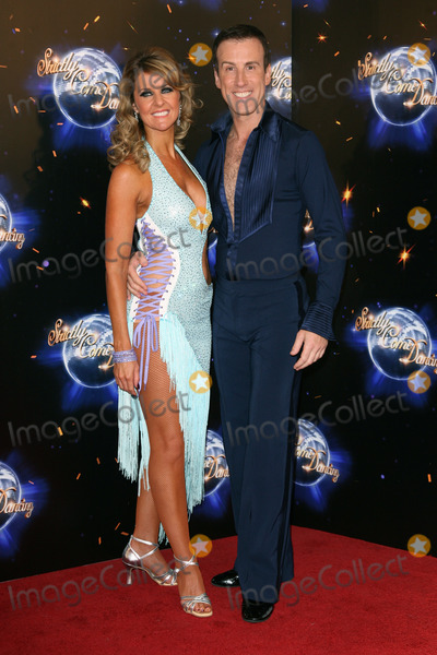 Anton Du Beke Photo - Erin Boag and Anton Du Beke arriving for the 2011 Strictly Come Dancing Launch at the BBC Centre London 07092011 Picture by Alexandra Glen  Featureflash