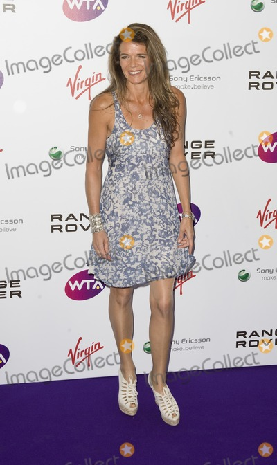 Annabelle Croft Photo - Annabel Croft arriving for The WTA Pre Wimbledon Party Rooftop Gardens Kensington London 16062011  Picture by Simon Burchell  Featureflash