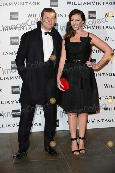 Dermot OLeary Photo - Dermot OLeary and wife Dee Koppang arrives for the WilliamVintage Dinner at the Renaisance Hotel StPancras London 14022014 Picture by Steve Vas  Featureflash