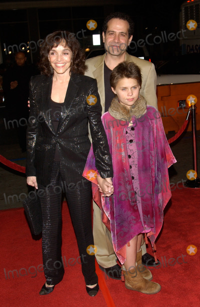 Adam Brooks Photo - Actor TONY SHALHOUB  wife actress BROOKE ADAMS  daughter at the world premiere in Hollywood of his new movie Against the RopesFebruary 11 2004