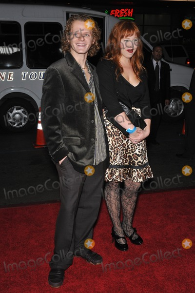 Nick Pasqual Photo - Nick Pasqual  Angie Hoppen at the AFI Fest gala screening of his new movie The Road at Graumans Chinese Theatre HollywoodNovember 4 2009  Los Angeles CAPicture Paul Smith  Featureflash