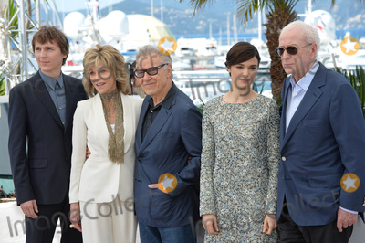 Michael Caine Photo - Paul Dano (left) Jane Fonda Harvey Keitel Rachel Weisz  Michael Caine at the photocall for their movie Youth at the 68th Festival de CannesMay 20 2015  Cannes FrancePicture Paul Smith  Featureflash