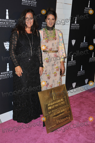 Angela Missoni Photo - Angela Missoni  Margherita Missoni (right) at the 2011 Rodeo Drive Walk of Style gala honoring Italian fashion house Missoni and supermodel Iman on Rodeo Drive in Beverly HillsOctober 23 2011  Los Angeles CAPicture Paul Smith  Featureflash
