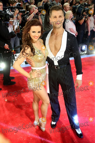 Anya Garnis Photo - Anya Garnis Pasha Kovalev arriving for Strictly Come Dancing red carpet launch event held at Elstree studios London 03092013 Picture by Henry Harris  Featureflash
