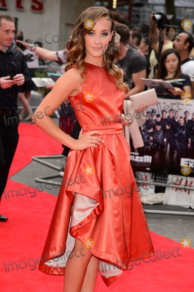 April Pearson Photo - April Pearson arrives for the World premiere of The Expendables 3 at the Odeon Leicester Square London 04082014 Picture by Steve Vas  Featureflash