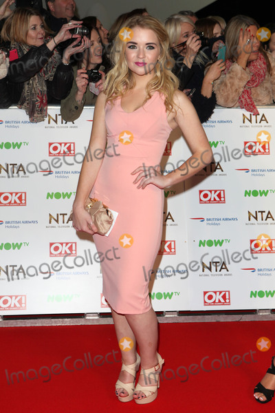 Ashleigh Defty Photo - Lorna Fitzgerald attending the National Television Awards 2016 The O2 London on 20012016 Picture by Kat Manders  Featureflash