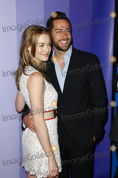 Zach Levi Photo - NEW YORK - MAY 16   Yvonne Strahovski  Zach Levi pictured at The NBC Primetime Preview at The Hilton on May 16 2011 in New York City  (Photo by StarMediaImageCollectcom)