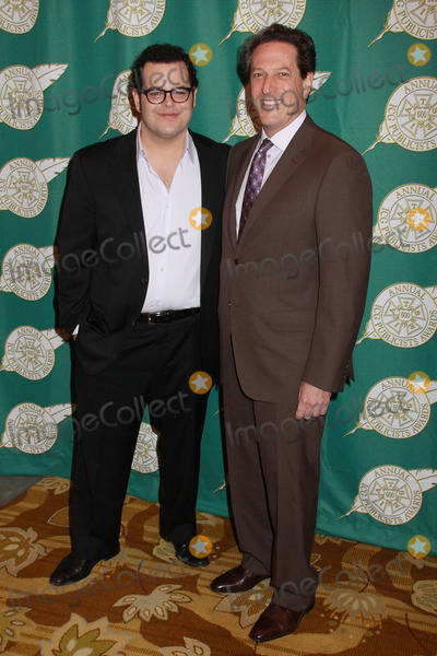 Andrew Millstein Photo - Josh Gad Andrew Millstein 02282014 51st Annual Publicists Awards Luncheon held at Beverly Wilshire Hotel in Beverly Hills CA Photo by Kazuki Hirata  HollywoodNewsWirenet