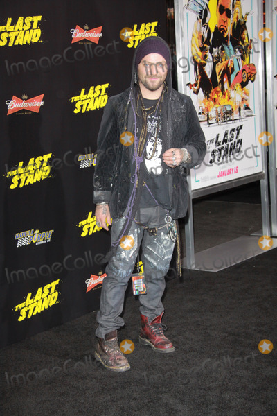 Bam Margera Photo - Bam Margera01142013 The Last Stand Premiere held at TCL Chinese Theatre in Hollywood CA Photo by Izumi Hasegawa  HollywoodNewsWirenet