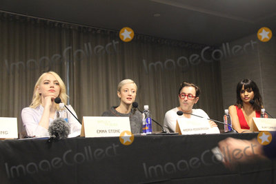 Alan Cummings Photo - Emma Stone Andrea Riseborough Alan Cumming Natalie Morales 09172017 Battle of the Sexes Press Conference held at W Los Angeles - West Beverly Hills Los Angeles CA  Photo by Izumi Hasegawa  HollywoodNewsWireco