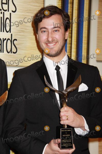 Alex Rubens Photo - Alex Rubens 02012014 2014 Writers Guild Awards held at JW Marriott Los Angeles LA Live in  Los Angeles CA Photo by Kazuki Hirata  HollywoodNewsWirenet