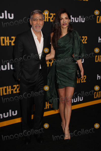 Amal Clooney Photo - George Clooney Amal Clooney 05072019 The US Premiere of Hulus CATCH-22 held at The TCL Chinese Theatre in Los Angeles CA Photo by Izumi Hasegawa  HollywoodNewsWireco