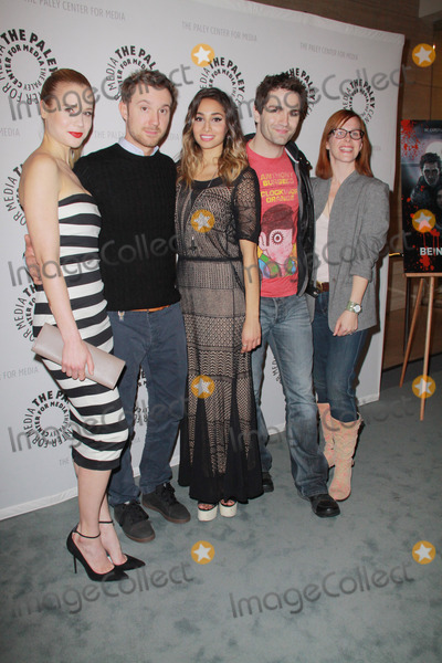Meaghan Rath Photo - Kristen Hager Sam Huntington Meaghan Rath Sam Witwer Anna Fricke01082013 The Paley Center For Media Presents An Evening with SyFys Being Human Season Three Premiere  Panel held at The Paley Center For Media in Beverly Hills CA Photo by Izumi Hasegawa  HollywoodNewsWirenet