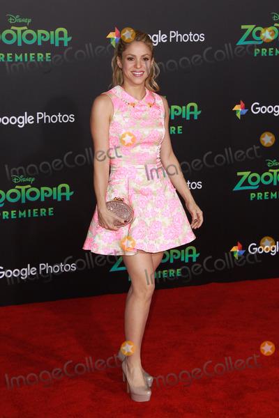 Zootopia Premiere Photo - Shakira 02172016 Zootopia Premiere held at the El Capitan Theatre in Hollywood CA Photo by Kazuki Hirata  HollywoodNewsWirenet