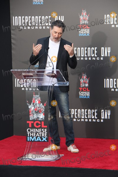 Harald Kloser Photo - Harald Kloser 06202016 Hand and Footprint Ceremony of Roland Emmerich from Independence Day Resurgenceh held at The TCL Chinese Theatre in Hollywood CA Photo by Izumi Hasegawa  HollywoodNewsWireco