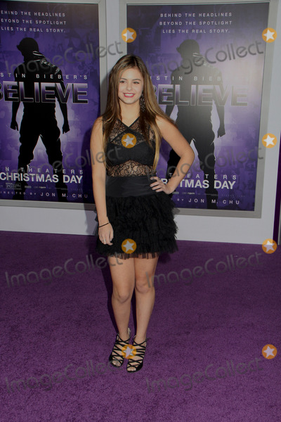 Jacquie Lee Photo - Jacquie Lee 12182013 Justin Biebers Believe World Premiere held at Regal Cinemas LA Live in Los Angeles CA Photo by Izumi Hasegawa  HollywoodNewsWirenet