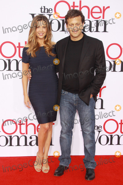 Ashley Cusato Photo - Ashley Cusato Aaron Zigman 04212014 The Other Woman Premiere held at the Regency Village Theatre in Westwood CA Photo by Kazuki Hirata  HollywoodNewsWirenet