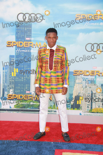 Abraham Attah Photo - Abraham Attah 06282017 The World Premiere of Spider-Man Homecoming held at the TCL Chinese Theatre in Los Angeles CA Photo by Izumi Hasegawa  HollywoodNewsWireco