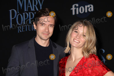 Ashley Hinshaw Photo - Topher Grace Ashley Hinshaw 11292018 The World Premiere of Mary Poppins Returns held at The Dolby Theatre in Los Angeles CA Photo by Izumi Hasegawa  HollywoodNewsWireco
