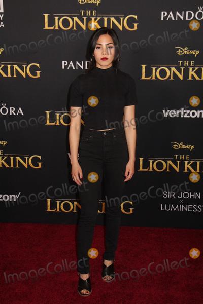 Anna Akana Photo - Anna Akana 07092019 The Lion King Premiere held at Dolby Theatre in Hollywood CA Photo by Kazuki Hirata  HollywoodNewsWireco