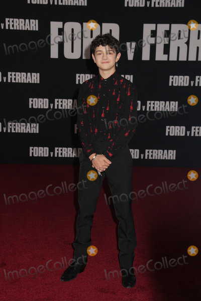 The Specials Photo - Noah Jupe 11042019 The Special Screening of Ford v Ferrari held at TCL Chinese Theater in Los Angeles CA  Photo by Izumi Hasegawa  HollywoodNewsWireco