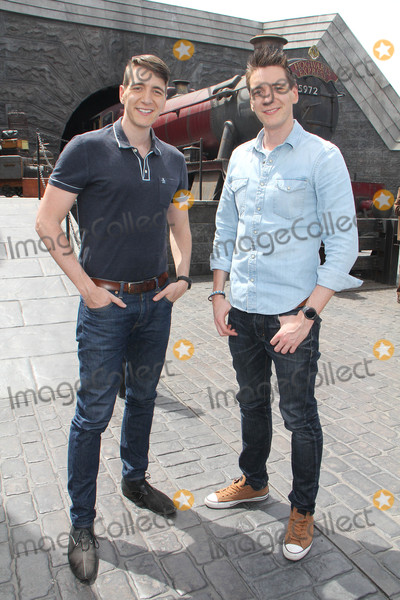 Oliver Phelps Photo - Oliver Phelps James Phelps  04062016 The Wizarding World of Harry Potter Media Preview Day held at the Universal Studios Hollywood in Hollywood CA Photo by Kazuki Hirata  HollywoodNewsWirenet