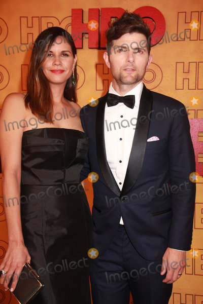 Naomi Scott Photo - Naomi Scott Adam Scott 09172017 The 69th Annual Primetime Emmy Awards HBO After Party held at the Pacific Design Center in West Hollywood CA Photo by Izumi Hasegawa  HollywoodNewsWireco