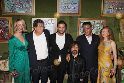 Ashleigh Brewer Photo - Ashleigh Brewer Sacha Gervasi Jamie Dornan Peter Dinklage Andy Garcia Mireille Enos 10042018 The Los Angeles Premiere of My Dinner with Herve held at Paramount Studios in Los Angeles CA Photo by Izumi Hasegawa  HollywoodNewsWireco