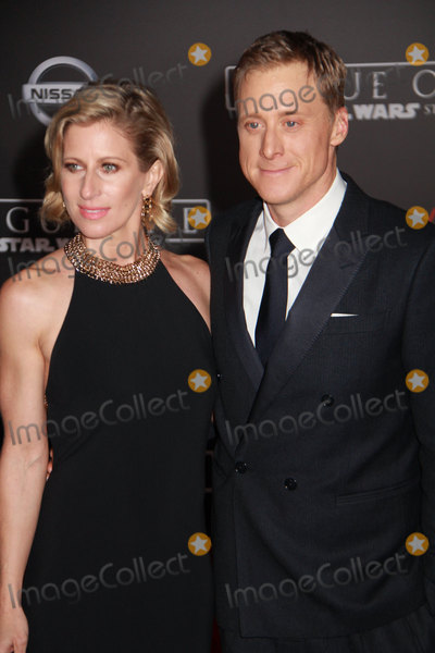 Alan Tudyk Photo - Charissa Barton Alan Tudyk 12102016 The World Premiere of Rogue One A Star Wars Story held at the Pantages Theatre in Los Angeles CA Photo by Izumi Hasegawa  HollywoodNewsWireco