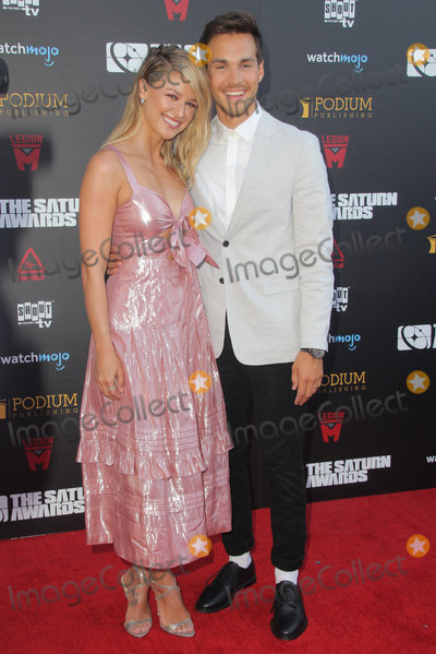 Saturn Awards Photo - Melissa Benoist Chris Wood 09132019 The 45th Annual Saturn Awards held at the Avalon Hollywood in Los Angeles CAPhoto by Yurina Abe  HollywoodNewsWireco