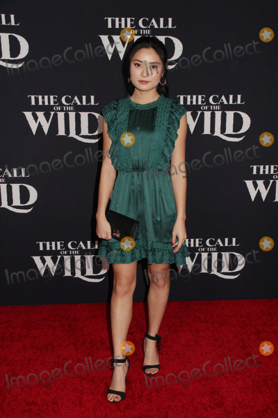 Ashley Liao Photo - Ashley Liao 02132020 The World Premiere of The Call of the Wild held at The El Capitan Theatre in Los Angeles CA Photo by Izumi Hasegawa  HollywoodNewsWireco