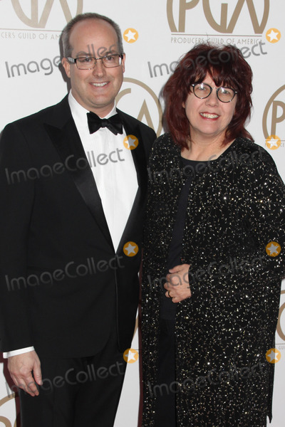Andrew DeCristofaro Photo - Andrew Decristofaro Becky Sullivan 01242015 26th Annual Producers Guild Awards held at The Hyatt Regency Century Plaza in Los Angeles CA Photo by Ima Kuroda  HollywoodNewsWirenet
