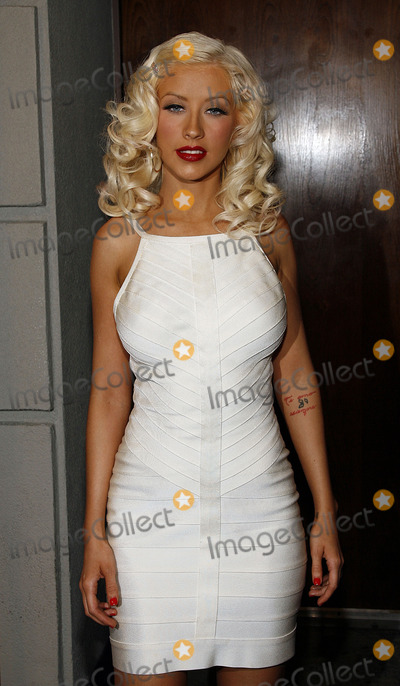 Chrisitina Aguilera Photo - Christina Aguilera attends her record release party at Marquee on August 15 2006 in New York City