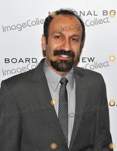 Asghar Farhadi Photo - January 10 2012  Asghar Farhadi attends the National Board of Review Awards Gala at Cipriani 42nd Street on January 10 2012 in New York City