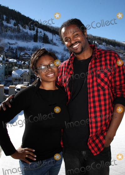 Aaliyah Williams Photo - Producer Aaliyah Willams and director Julian Breece (R) pictured during their portrait session at the 2009 Sundance Film Festival on January 16 2009 in Park City Utah