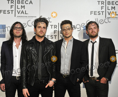 Jared Followill Photo - NEW YORK NY - APRIL 21  (L-R) Nathan Followill Jared Followill director Stephen C Mitchell and Caleb Followill  attend the premiere of Talihina Sky The Story Of Kings Of Leon during the 2011 Tribeca Film Festival at BMCCTPAC on April 21 2011 in New York City